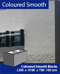 Coloured Masonry Block