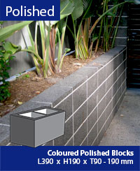 Polished Masonry Block