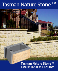 Natural Stone faced block