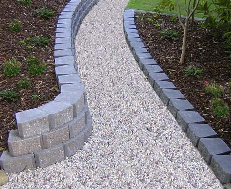 The Smaller Size Of The Gardenstone™ Blocks Makes Them Ideal For Lower Retaining  Walls, Garden Edging And Tighter Curves.