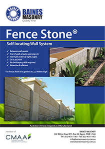 Fencestone