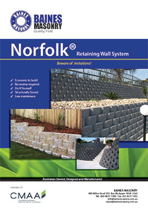 Norfolk Retaining Wall