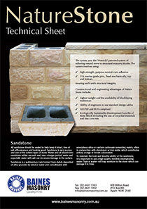 Naturestone Technical Sheet