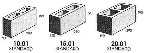 1000 ideas about concrete block sizes on pinterest concrete blocks interior design and design. Black Bedroom Furniture Sets. Home Design Ideas