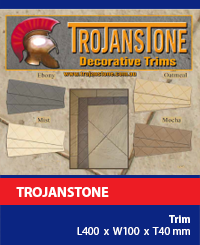 Trojanstone Paving Trims