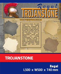 Trojanstone Paving Regal
